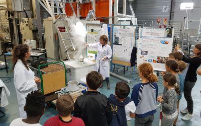 Vulgarisation scientifique avec l'azote liquide
