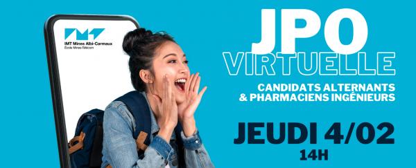 Bandeau JPO virtuelle