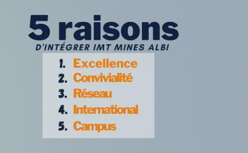 5 raisons