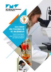 couverture flyer pharma ingénieur
