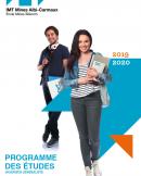 couverture programme des études