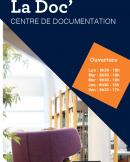 couverture flyer centre de documentation